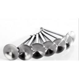 Supertech Inconel Exhaust Valves (standard size) - 3 groove
