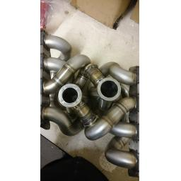 "Nortech 1.5""NB 1.8t Tubular exhaust manifold V-BAND 1.8t 20v"