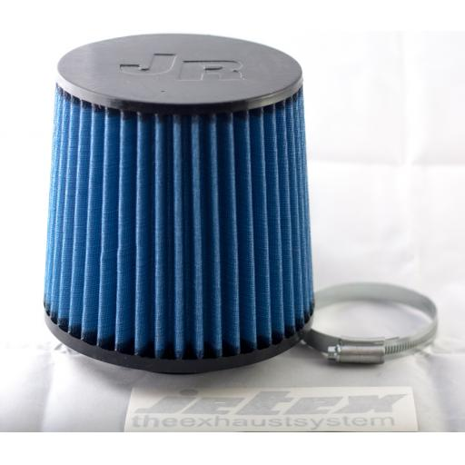 JR Blue/Black air filter (70mm or 80mm available)