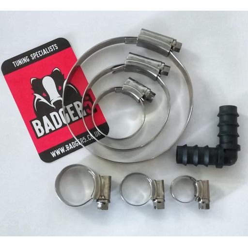 JC Hi-Grip Stainless Hose Clip kit for V3 TIP