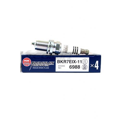 NGK Iridium IX - BKR7EIX sparkplugs (set of 4)