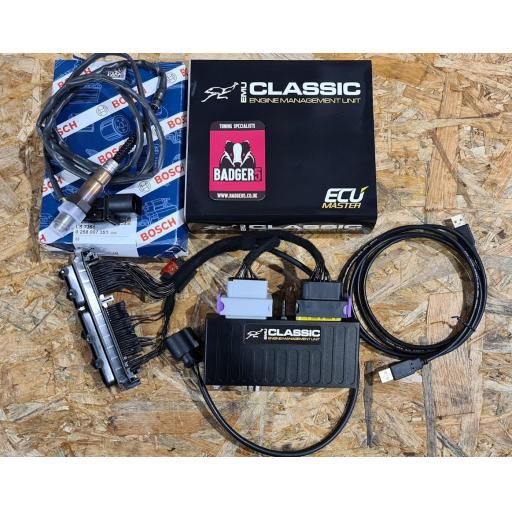 Ecumaster EMU Classic ECU plug n play AGU/AEB Kit